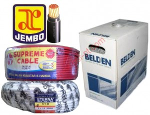 Kabel Jembo, Supreme, Eterna, Belden