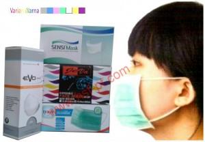Earloop Mask / Masker Cantel Karet 50 Pcs / Box