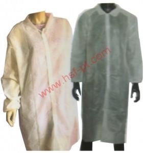 Jas Lab Putih Jenis : Kancing, Resleting dan Velcro Size : M, L, XL, XXL, XXXL