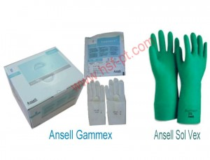 Ansell Gammex Sterile, Ansell Solvex Green 37-175 dan 37-185