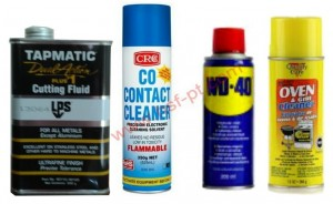 Tapmatic Cutting Fluid, Contact Cleaner, WD-40, dan Oven & Grill Cleaner